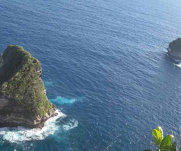 banah clift nusa penida