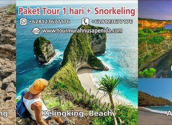 paket tour 1 hari + snorkeling
